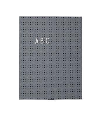 A4 Light Slate - L 21 x H 30 cm Σκούρο Γκρι Σχεδιασμός Γράμματα