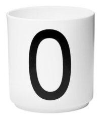 Κούπα Arne Jacobsen Επιστολή O Λευκό Σχεδιασμός Επιστολές Arne Jacobsen