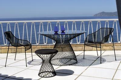 round table Heaven Ø 80 cm Aluminium Emu Jean-Marie Massaud 1