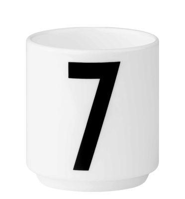 Arne Jacobsen Kaffeetasse Nummer 7 Weiß Design Letters Arne Jacobsen