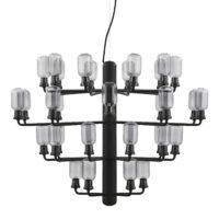 Amp Lâmpada de suspensão grande para lustre - Ø 85 cm Preto | Fumè Normann Copenhagen Simon Legald
