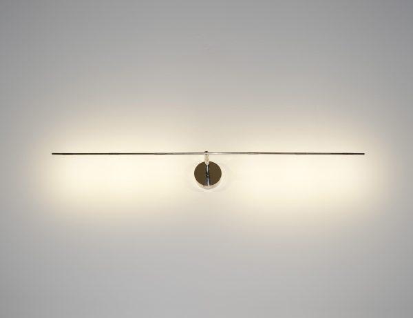 Candeeiro de parede leve - LED - L 61 cm Prata Catellani & Smith Catellani & Smith
