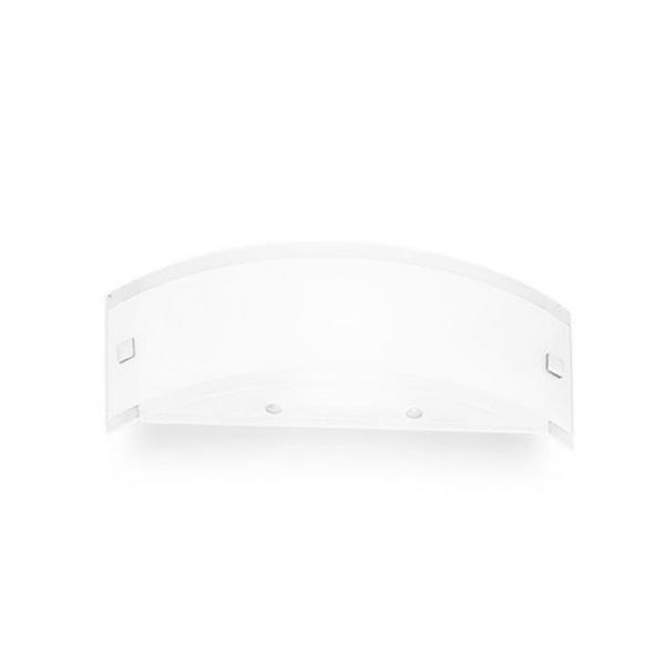 Mille S luz de parede Branco   Níquel Linea Light Group Centro Design LLG