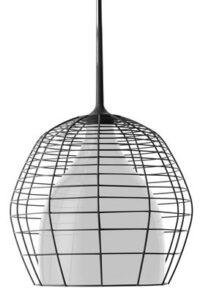 Lampe à suspension à cage - Ø 34 Black | White Diesel avec Foscarini Diesel Creative Team 1