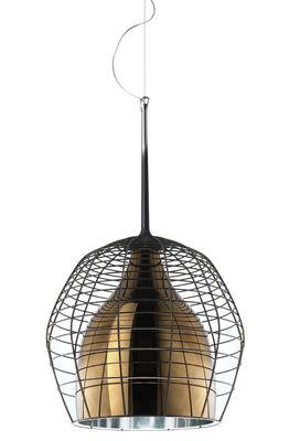 lâmpada pingente gaiola Ø 46 cm Bronze   Brown Diesel com Foscarini Diesel Equipe Criativa 1
