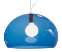 Hängelampe FL / Y - Ø 52 cm Kartell Blue Ferruccio Laviani 1