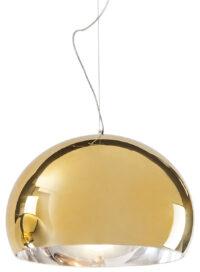 Suspension lamp FL / Y - Ø 52 cm Metallic Gold Kartell Ferruccio Laviani 1
