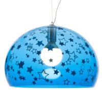 Λυχνία ανάρτησης FL / Y ΠΑΙΔΙΑ - Ø 52 cm Kartell Blue Ferruccio Laviani 1