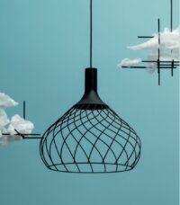 Hängeleuchte Mongolfier_P2 Schwarz Linea Light Group Design Center LLG