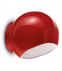 Ayrton C2553 Κόκκινη λάμπα τοίχου Ferroluce 1