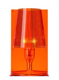 Nehmen Sie Orange Tischlampe Kartell Ferruccio Laviani 1