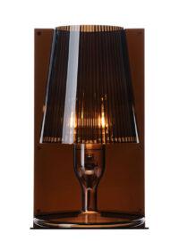 Kartell Ferruccio Laviani Take Fumé Lampe de table 1