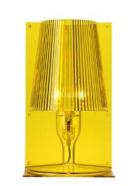 Πάρτε την κίτρινη επιτραπέζια λάμπα Kartell Ferruccio Laviani 1