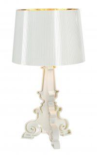 Bourgie Table Lamp White Gold Kartell Ferruccio Laviani 1