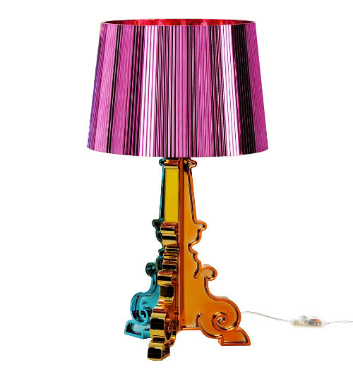 Bourgie table lamp Limited edition Christmas 2011 Fuchsia Kartell Ferruccio Laviani 1