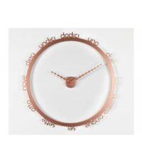 Orologio da parete Hoop Rame Rame Progetti Giambattista Gaggero 1
