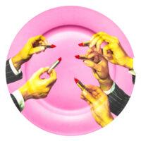 Plaque de papier toilette - Rouges à lèvres multicolores Seletti Maurizio Cattelan | Pierpaolo Ferrari