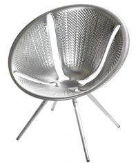 Diatomáceas cadeira de alumínio Moroso Ross Lovegrove 1