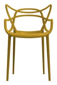 Masters Mostarda Kartell Philippe Starck stapelbarer Sessel | Eugeni Quitllet 1