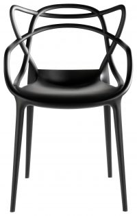 Πολυθρόνα Masters Black Kartell Philippe Starck | Eugeni Quitllet 1