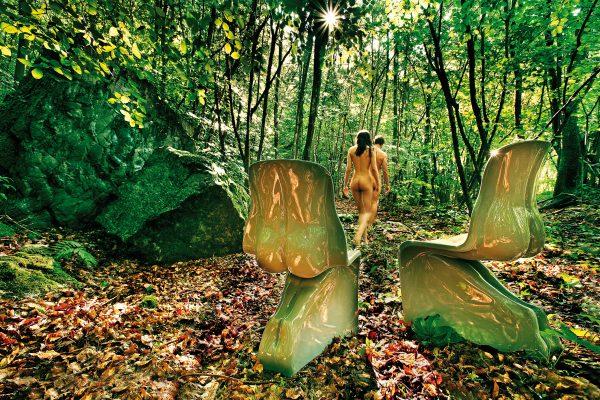 Sua cadeira verde Sage Casamania Fabio Novembre