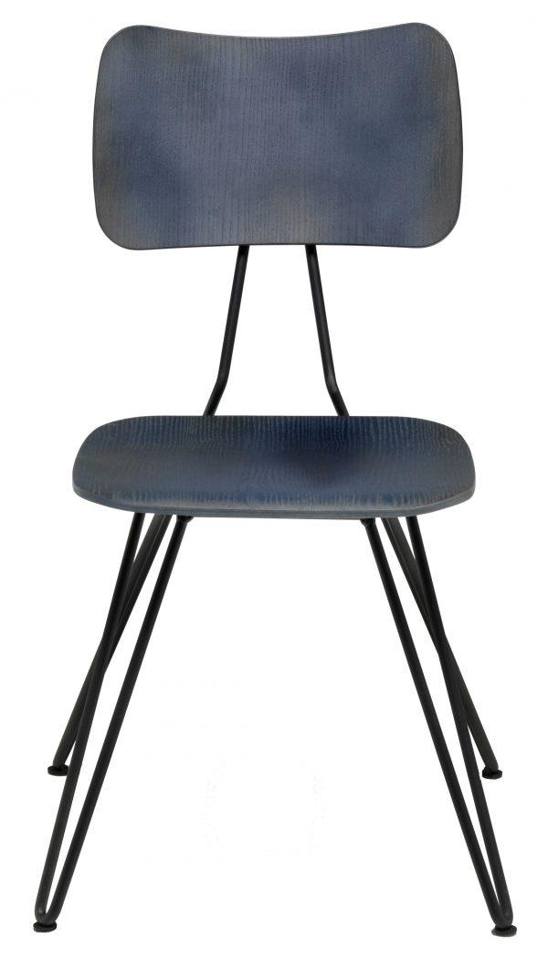 Cadeira Overdyed Indigo Diesel azul com Moroso Diesel Equipa Criativa 1