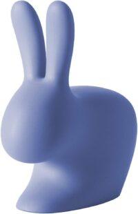 ウサギの椅子ライトブルーQeebooStefano Giovannoni 1