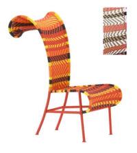 Καρέκλα σκιερά Λευκό | Κόκκινο | Μαύρο Moroso Tord Boontje 1