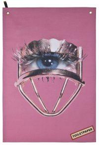 トイレットペーパー皿 - 色とりどりの目| Rosa Seletti Maurizio Cattelan | Pierpaolo Ferrari