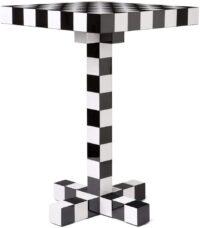 Σκάκι Τραπέζι Λευκό | Μαύρο moooi εμπρός 1