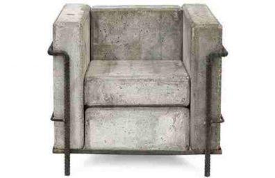 σκυροδέματος καναπέ