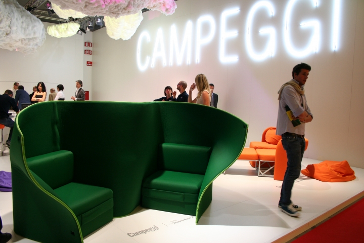 Κάμπινγκ, Εβδομάδα σχεδιασμού του Μιλάνου 2011