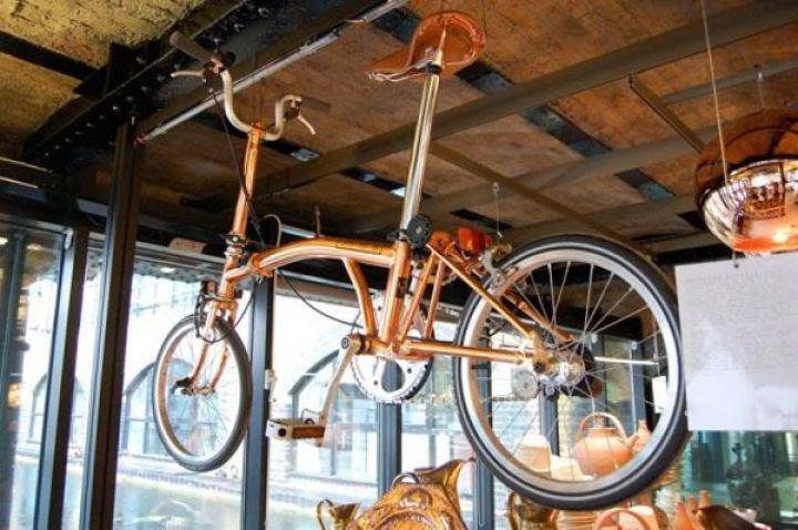 Tom-Dixon-brompton-Falten-Fahrrad-Kupfer-1