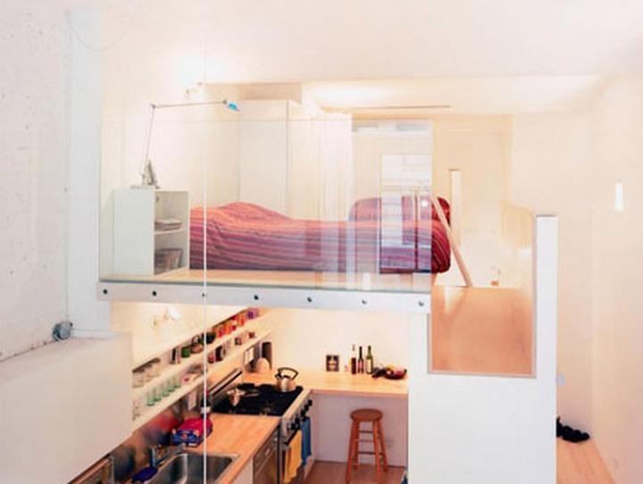 -lofted bedroom