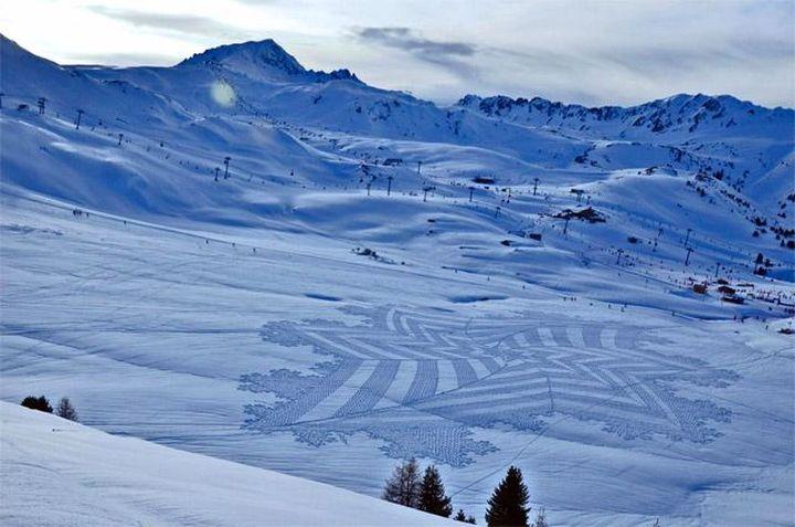 Snow-art-από-Simon-beck2