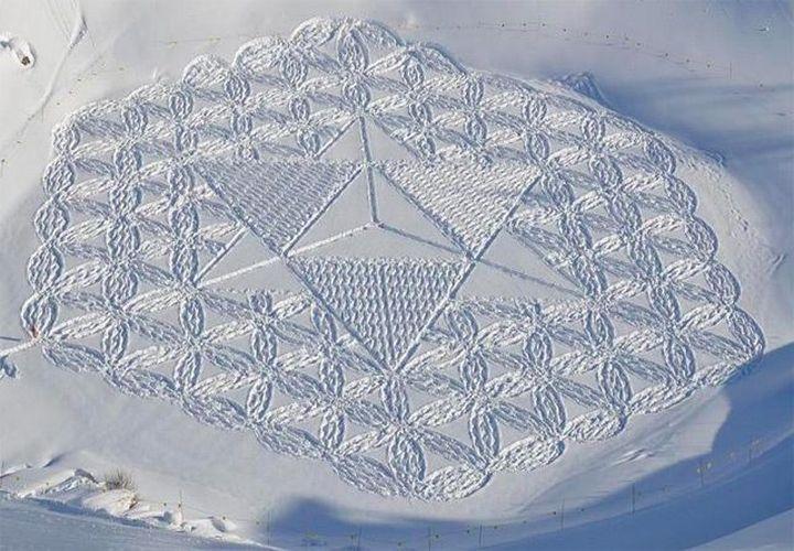 Snow-art-από-Simon-beck6