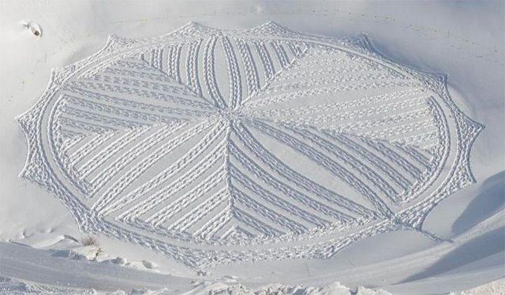 Snow-art-από-Simon-beck8