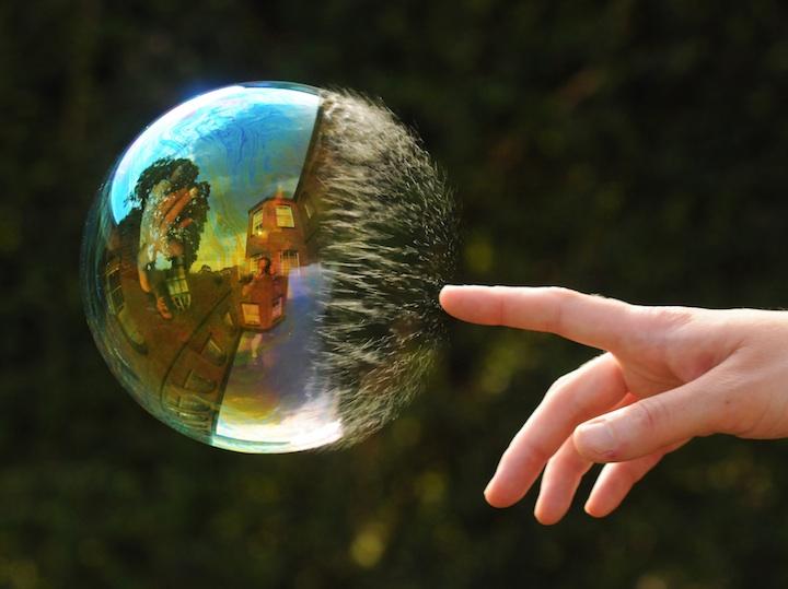 Richard Heeksl magiques Réflexions sur Soap Bubbles-10