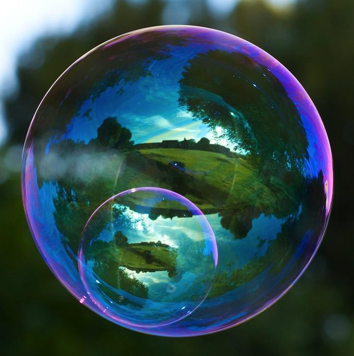 Richard Heeksl magiques Réflexions sur Soap Bubbles-15