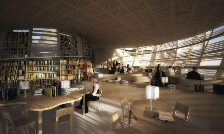 Djuric Tardio Architectes Helsinki Central Library 04