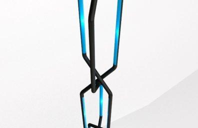 Roberto Pennetta συστολή Noir και bleu 3D2