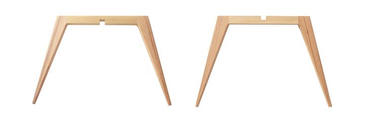 Jambes table basse Vaisselle
