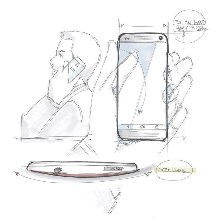 HTC One Sketch 6