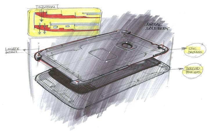 HTC One Esboço 7