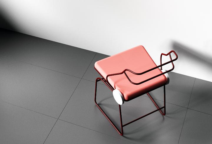 Dongsung Jung Antler cadeira 06