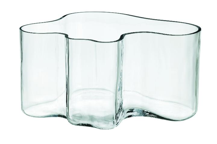 Aalto vase clear 145mm JPG