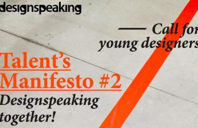 MANIFIESTO DESIGNSPEAKING TALENTO S