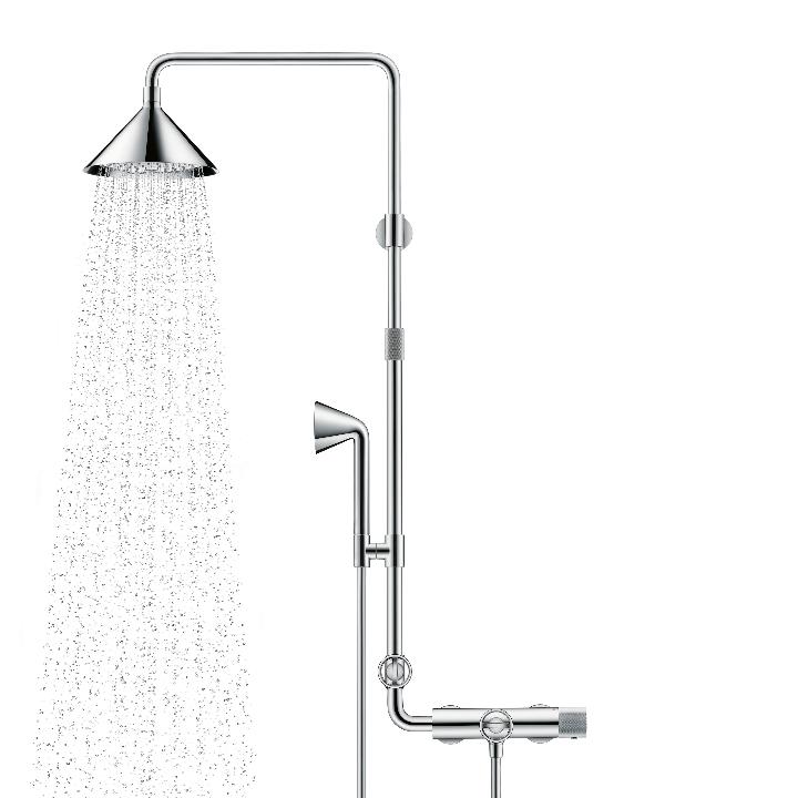 Axor ShowerProducts par système avant chromé douche