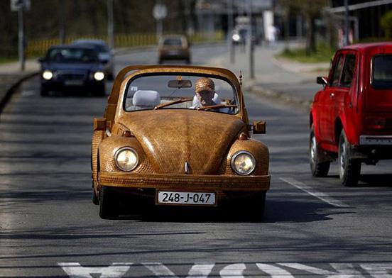 Ξύλινο-Volkswagen Beetle--002