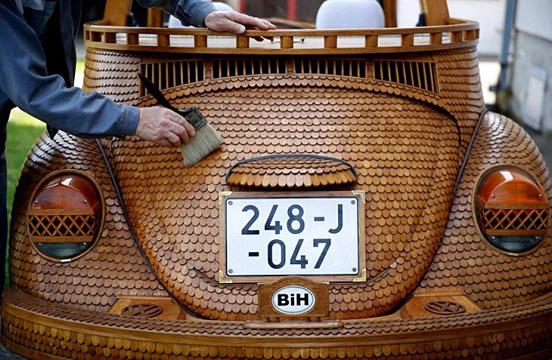 Ξύλινο-Volkswagen Beetle--003